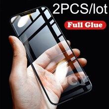 RDCY 6D Full Cover Glue Tempered Glass for Redmi Note 9s 9Pro POCO F1 X2 Mi 8 9 Y3 A2 Lite Mi 8 Lite Note 8T 8Pro Redmi K20 K30