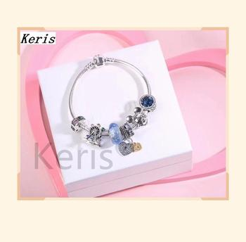 High Quality 1:1 100% Silver Rat Ferris Wheel Design Bracelet Decoration Preferred Gift Free Package