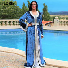 Lorie дешевые марокканские кафтан синие вечерние платья официальные