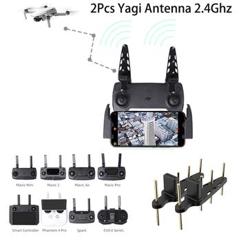 Drone antena Yagi 2 4Ghz Drone pilot wzmacniacz sygnału anteny dla DJI Mavic Mini PRO Mavic 2 Phantom 4 Pro EVO II tanie i dobre opinie SUNNYLIFE CN (pochodzenie) 2Pcs Yagi Antenna 2 4Ghz Antenna FOR DJI Mavic Mini PRO Mavic 2 2 4Ghz Yagi Antenna