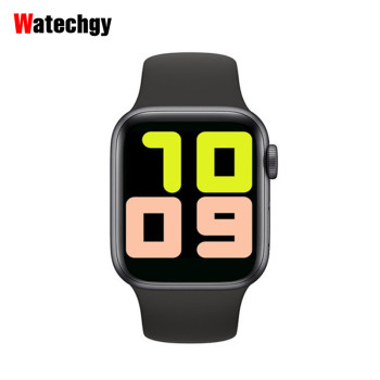 Watechgy IWO 13 T500 Smart Watch 2020 Series 5 Bluetooth Call 44mm Heart Rate Monitor Blood Pressure SmartWatch PK IWO Max 2.0