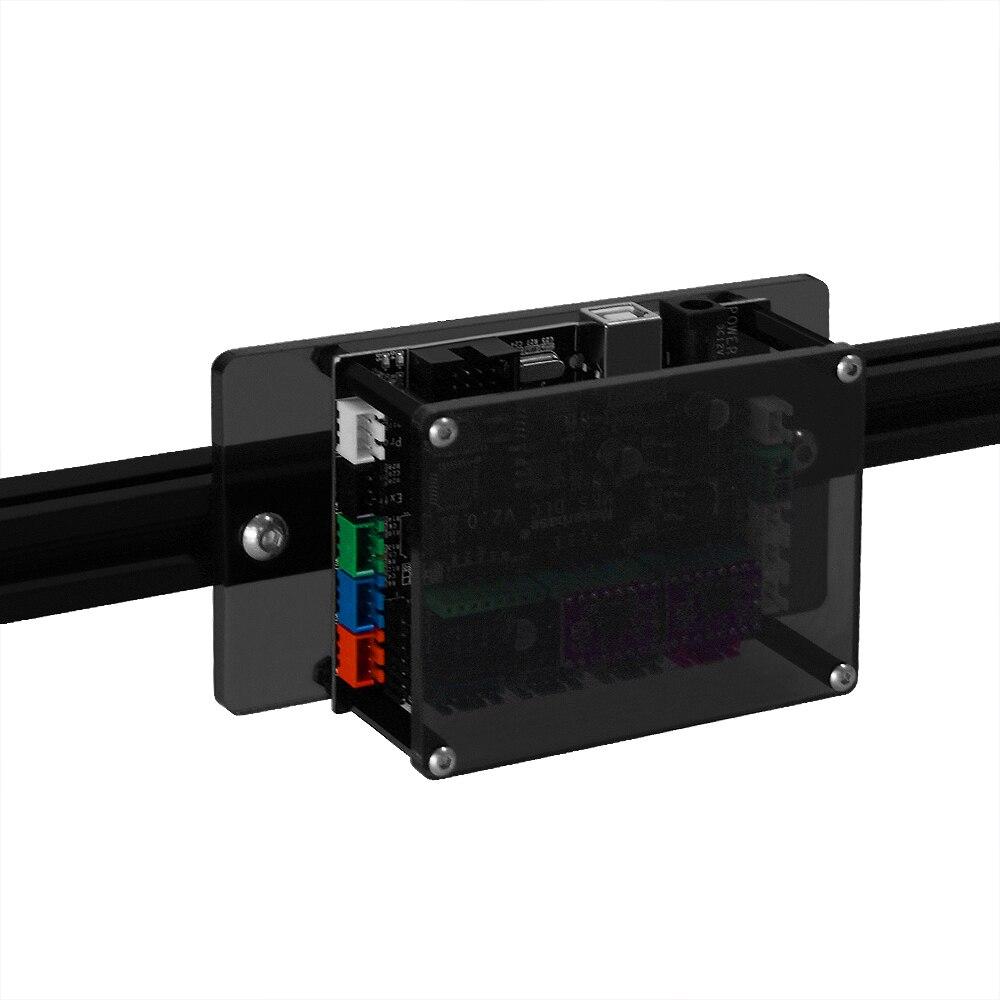 Image 5 - Mini Laser Engraving Machine 2Axis black silver color 30*40cm 2500MW DIY Engraver Desktop Wood Router/Printer + Laser Goggles3D Printers   -