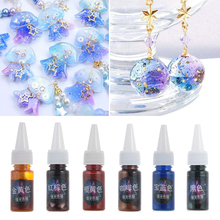 1PC 10ml High Concentration Pearl Pigment Epoxy Resin Jewelry Making Colorant UV Jewelry Accessories Coloring Dye DIY Crafts
