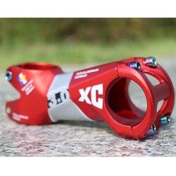 Ultraleve al7075 haste da bicicleta estrada mountain bike stem 7 graus 31.8mm * 80mm xc ciclismo peças