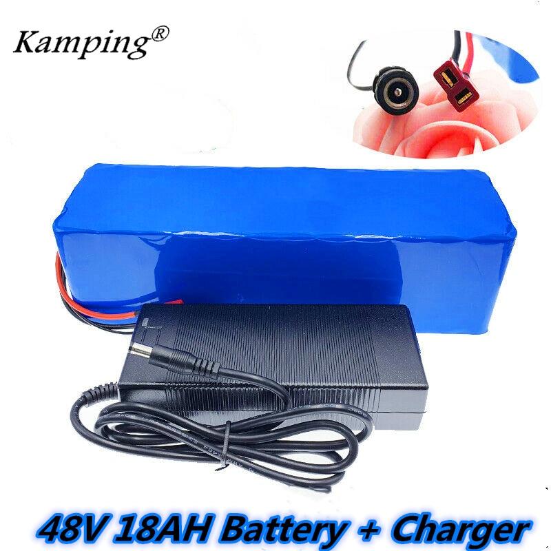 E-Bike Battery 48v 1000W 28AH 13S3P Li-Ion Battery For 54.6v Electric Bike New