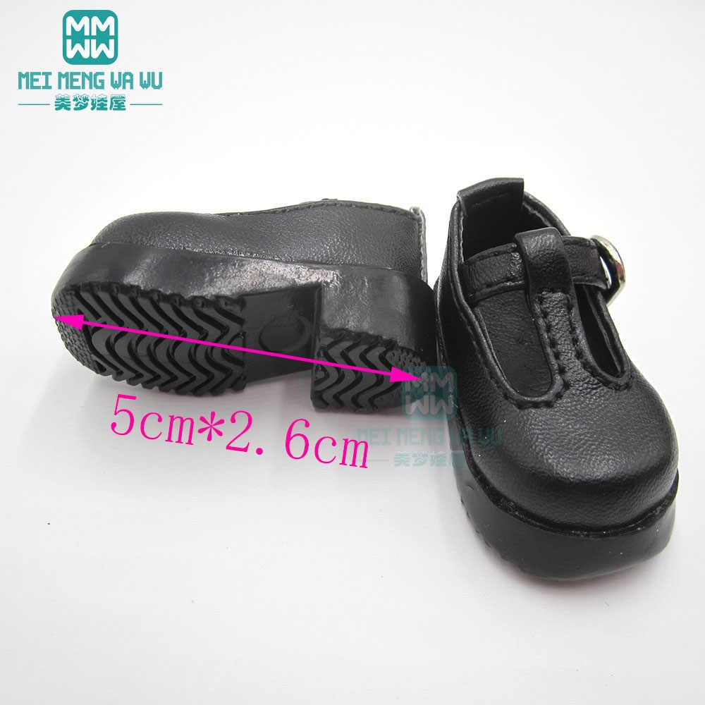 BJD Accessries สำหรับตุ๊กตา 1/6 YOSD MYOU สังเคราะห์หนัง pu รองเท้าส้นสูงรองเท้าสีดำ,สีขาว,สีน้ำตาล