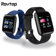 Rovtop 116Plus bracelets intelligents Android Sport Bracelet Bracelet intelligent D13 fréquence cardiaque ajustement Bit Bracelet intelligent Smartwatch(China)