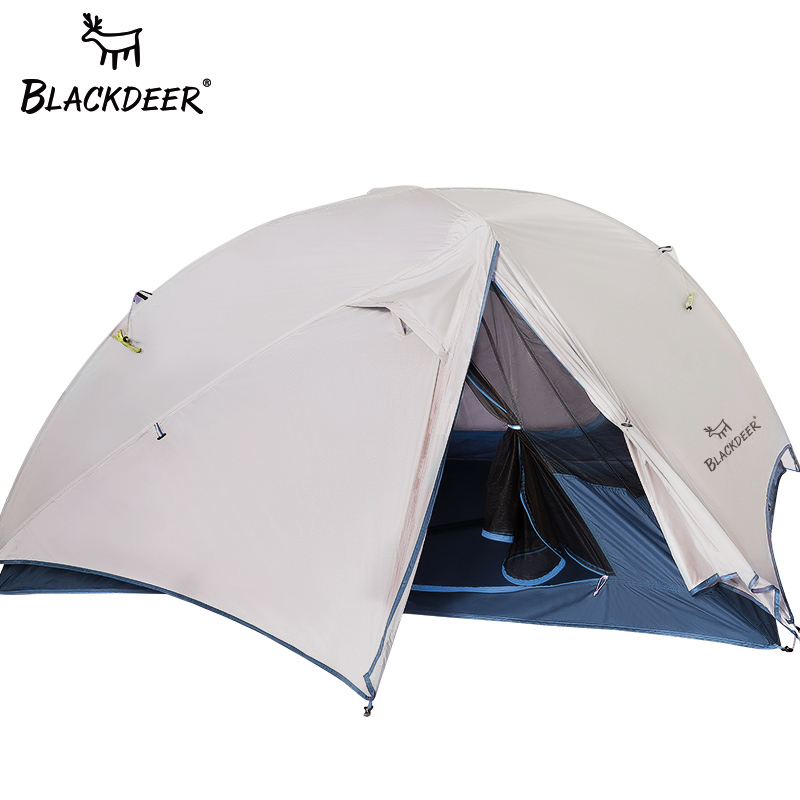 2 Person Upgraded Ultralight Tent 20D Nylon Silicone Coated Fabric Waterproof Tourist Backpack Tents outdoor Camping 1.47 kg