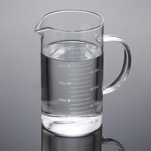 500 мл, мерный стакан из прозрачного стекла, мерный стакан, градуированная шкала, боросиликатное стекло, высокотемпературное сопротивление, кухонный инструмент