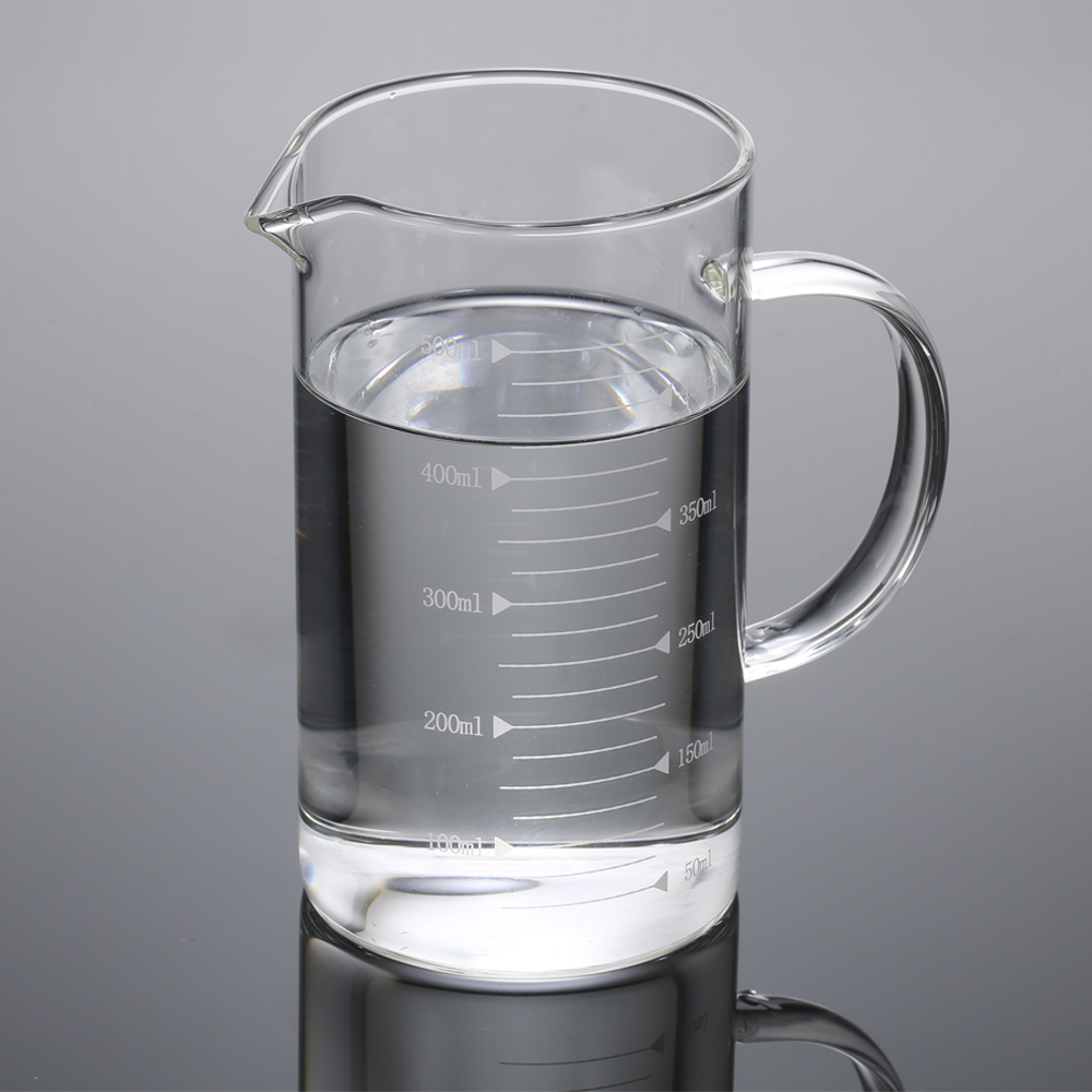 500ML Measuring Cup Transparent Glass Measuring Cup Graduated Scale Borosilicate Glass High Temperature Resistance Kitchen Tool