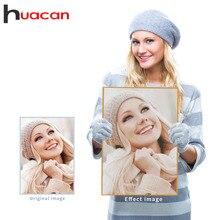 Huacan алмазная вышивка фото пользовательские картины стразами алмазная мозаика полный квадратный/круглый бриллиант вышивка