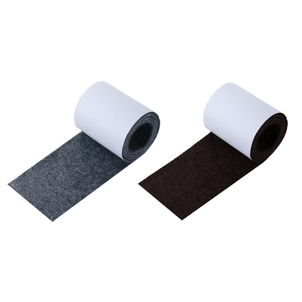 Heavy Duty Felt Strip Roll Self Adhesive Square Felt Pads Furniture Floor Scratch Protector DIY Furniture Accessories