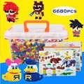 DOLLRYGA jouet enfant 6680pcs Mini Blok Baksteen Kids Speelgoed voor Kinderen Cijfers Diamant Bouwstenen Assemblage Educatief Bricks