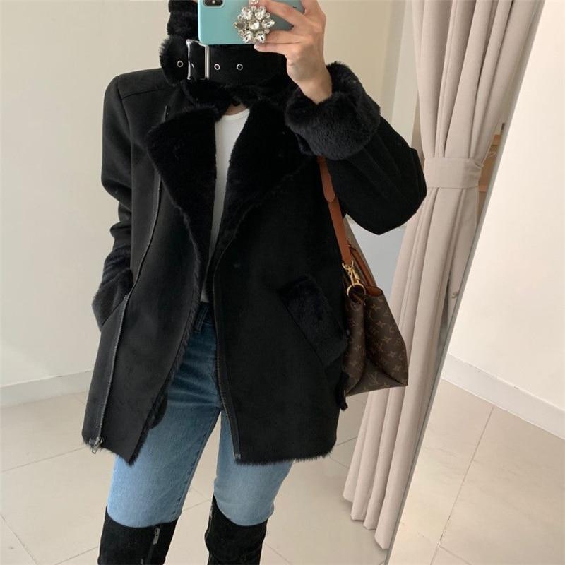 Купить шикарное зимнее шерстяное пальто для дам элегантное с воротником