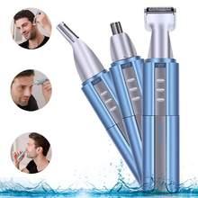 3 w 1 trymer do nosa i uszu dla mężczyzn brwi USB maszyna elektryczna nos cut golarka do usuwania włosów trymer do włosów Neustrimmer Tondeuse