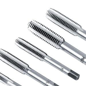 40 Pcs Metric Tap Sterben Set Hand Threading Werkzeug Hartmetall Schraube Gewinde Bit