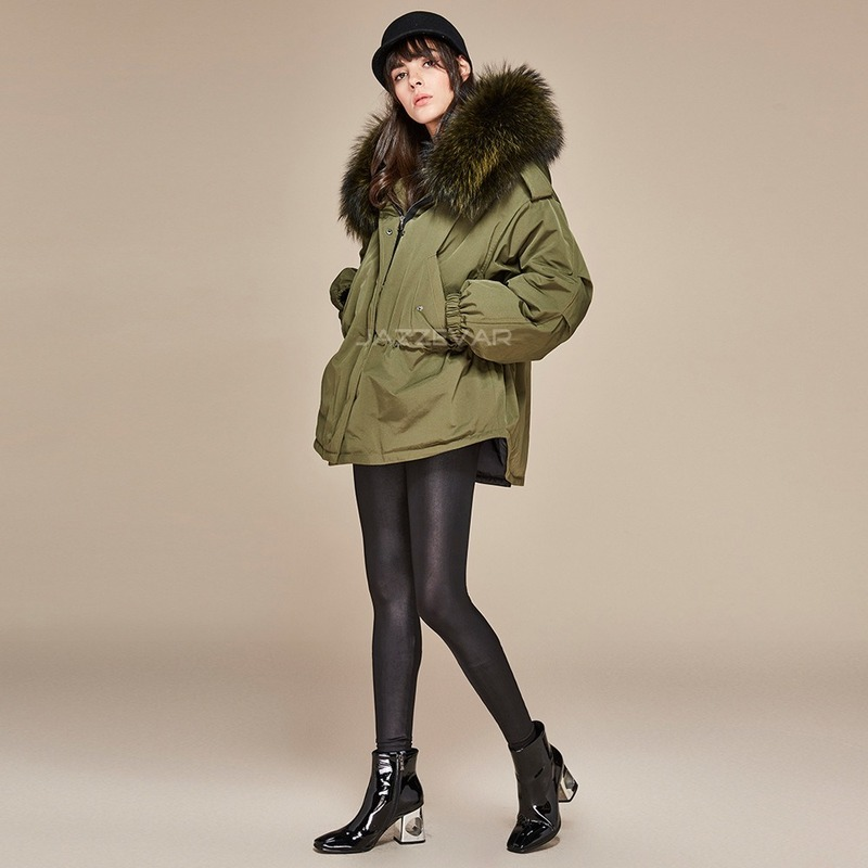 White Women Jacket Duck Down Coat Oversized Winter Coat Women Jacket Korean Puffer Jacket Casaco 870602 YY1326