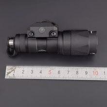 M300 m300a mini scout luz 280lumens led tatical caça tático tocha arma lanterna para 20mm ferroviário