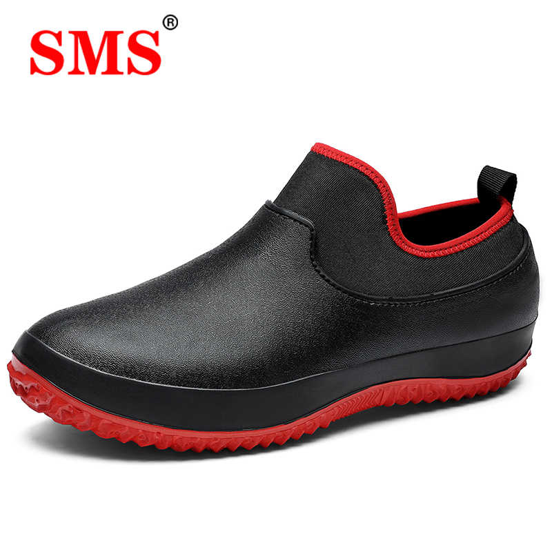 SMS 2020 새로운 운동화 남성 운동화 Nonslip Chef shoes 주방 작업 Cook Hotel Restaurant Working zapatillas de deporte
