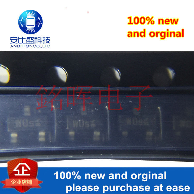 5pcs 100% New And Orginal BCR191 Silk-screen WOs SOT23 PNP In Stock