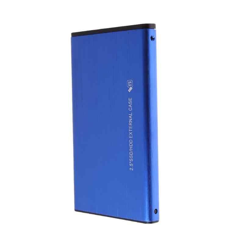 """2.5 """"SATA do USB 3.0 dysk twardy Adapter obudowa dysku twardego dla dysku SSD Case Box wsparcie 3TB USB 2.0 HD obudowa zewnętrznego dysku twardego"""