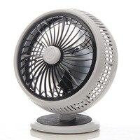 220V New Electric Fan Strong Wind Household Mini fans Silent Microw Student Typhoon Fan