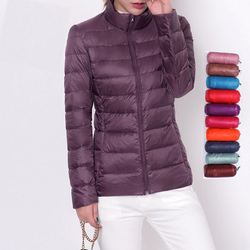 Winter Women Down Coats Duck Down Jacket Women Ultra Light Down Jacket Feather Jacket Plus Women's Overcoat Windbreaker Coats
