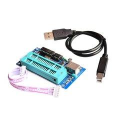 USB Микроконтроллер автоматическое программирование программист K150 + ICSP кабель PIC K150 микроконтроллер программист писатель загрузчик