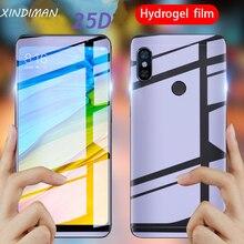 25D Soft hydrogel Film for xiaomi Redmi5 5plus screen protector redmi note5 redminote5pro front+back Protective Glass