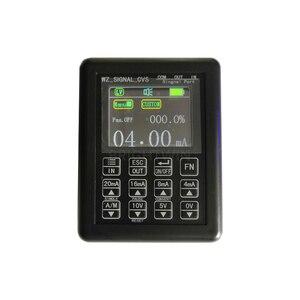 Image 2 - 정밀 4 20mA 0 10V 신호 발생기 프로세스 제어 신호 캘리calibra정전류 소스 0 20mA 시뮬레이터