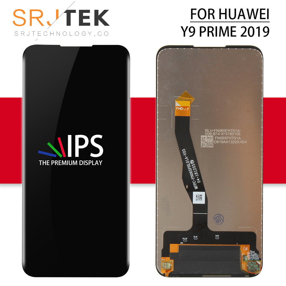 For Huawei HONOR 9X  Pro LCD Touch Glass Panel Replacement Parts For Huawei HONOR 9X Pro Display Sensor For HONOR 9 X Pro Screen