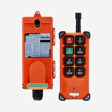 Uting F21-E1B industrial crane remote control system uhf wireless transmitter f21 e1b 1 transmitter and 1 receiver 8 buttons 1 speed hoist crane remote control wireless radio uting remote control switch