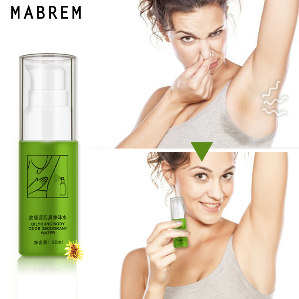 20ml Refresh Daily Antiperspirant Hypoallergenic Body Odor Spray Adult Underarm Office Summer Deodorant Water Armpit Therapy