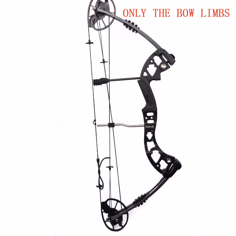 One Set M125 Compound Bow Limbs Fit DIY Compound Bow For Outdoor Archery Hunting Accessories