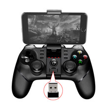 2.4G & Bluetooth Dual Shock Joysticks Gamepad Joystick Game Controller for TV BOX Smart TV Box Android Tablets VR(China)