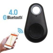 Домашнее животное Мини Смарт Bluetooth gps трекер Водонепроницаемый локатор сигнализация кошелек искатель ключ домашнее животное трекер детский телефон анти потеря напоминание