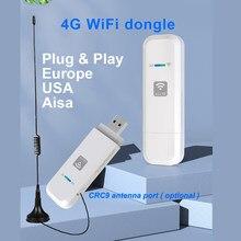 LDW931 4G wifi dongle внешняя антенна мобильный беспроводной LTE USB модем dongle nano SIM-карта слот карманный хот-спот 4G Роутер