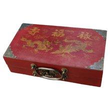 Набор из 32 винтажных китайских шахматных установок «терракотовый