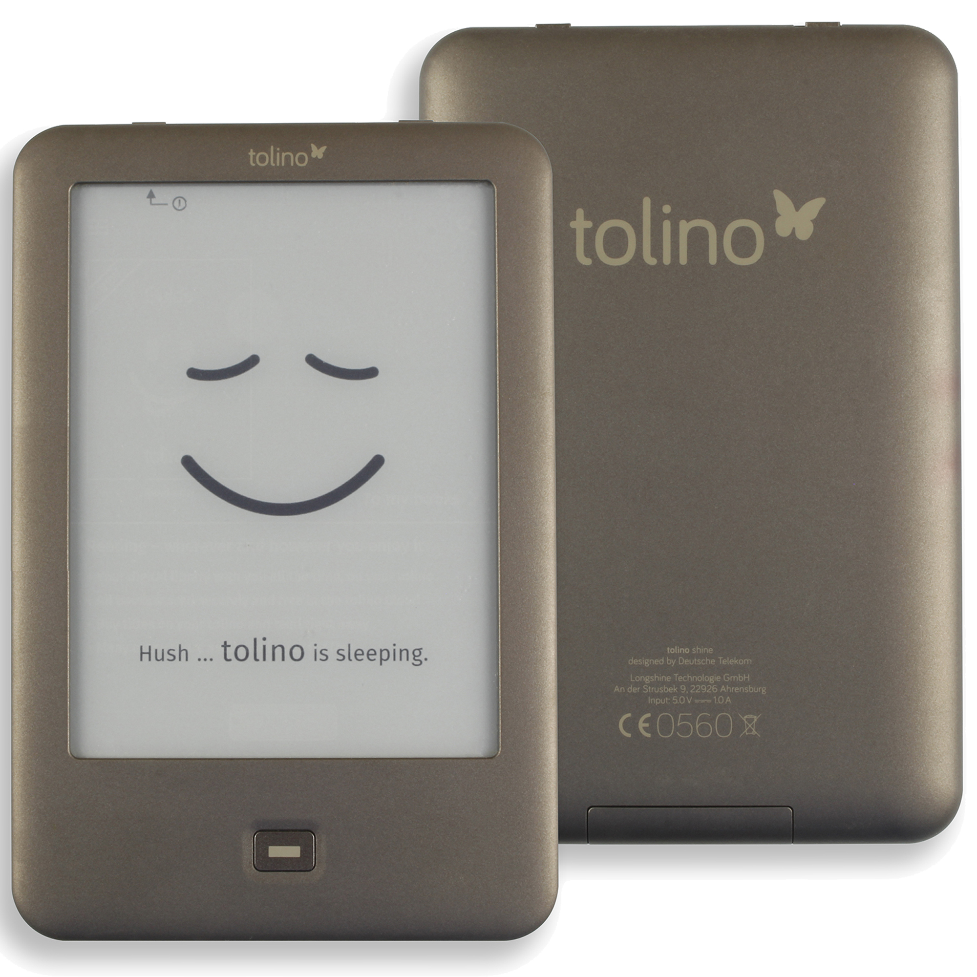 Built in Light e-Book Reader WiFi ebook Tolino Shine e-ink 6 inch Touch Screen 1024x758 electronic Book Reader image
