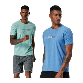 Breathable Sports T-Shirt for Men Mens Clothing Tops & T-shirts