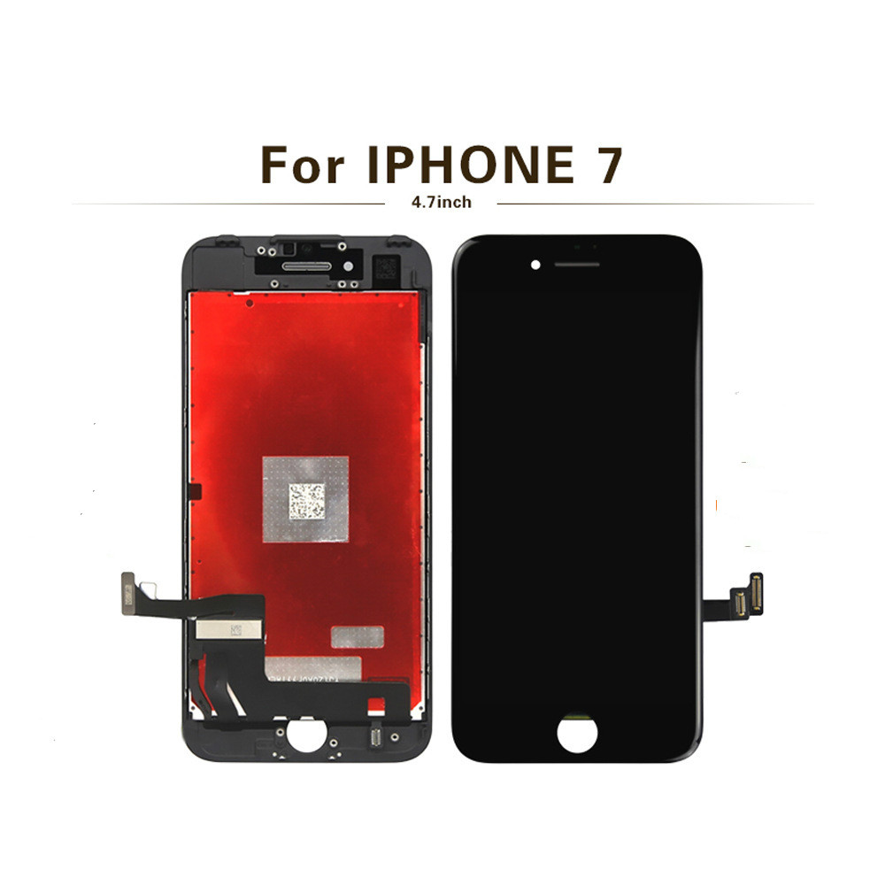 For iPhone 7 7Plus screen with 3D forced digitizer MOUNT, with touch screen, no dead pixels iphone 7 screen replacment title=