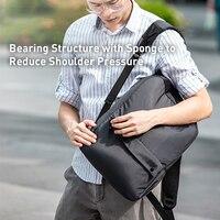 Baseus 20L Laptop Backpacks Bag Computer Bag Light Weight Travel Daypacks Men Leisure Backpacks Office Business Bag School Bag