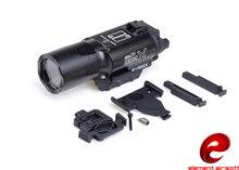 요소 airsoft surefir x300 전술 손전등 370 루멘 권총 무기 빛 surefir x300u 손전등 총 ex359