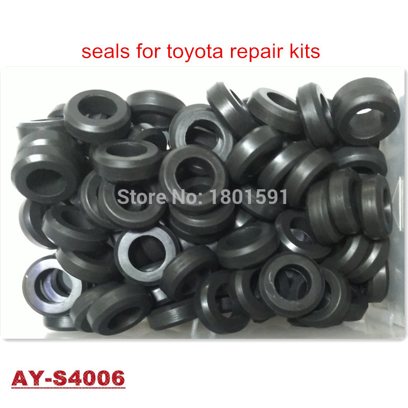 200units free shipping fuel injector lower seals rubber seal for mitsubishi mazda toyota(16*8.8*5.5mm AY-S4006)