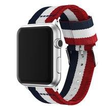 Ремешок нейлоновый для apple watch band series 5/4/3/2 спортивный
