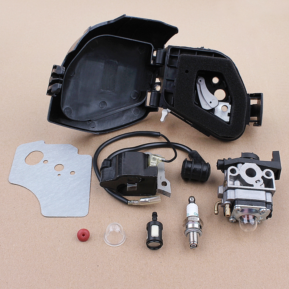 Beixi Zeit Luftfilter Kraftstofffilter Z/ündkerze Kit for Honda GX25 GX25N GX25NT GX25T Mini Kleinmotoren Motor HHT25S kreiss/äge Teile