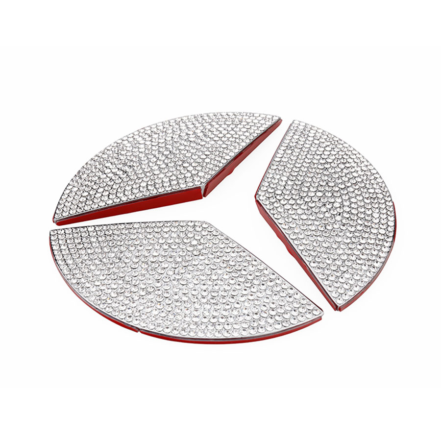 lowest price Chrome air conditioning vent frame cover trim interior sequins air outlet panel decorative strip 3D sticker for BMW f10 5 series