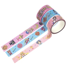 Decals Paper-Masking-Tape Washi Sailor-Moon Anime Kawaii Stickers Adhesive Diy Scrapbooking