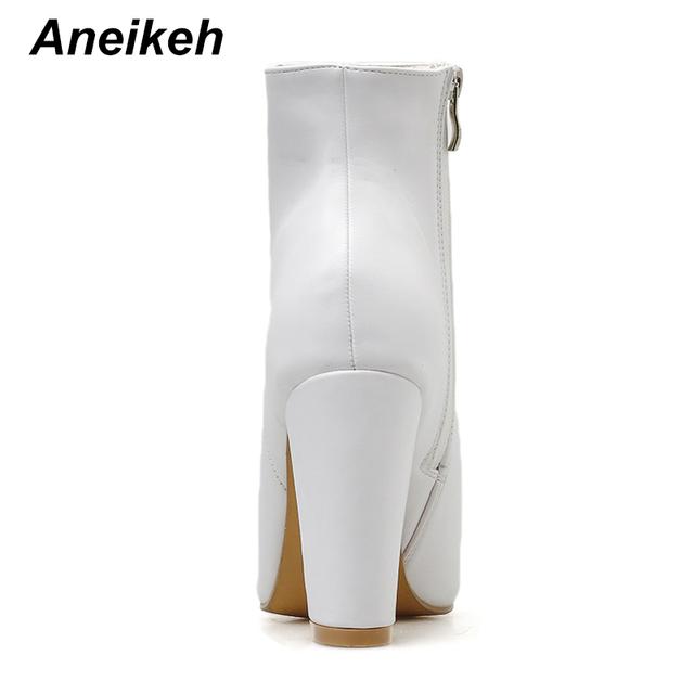 NEW Spring White Fashion Boots Women