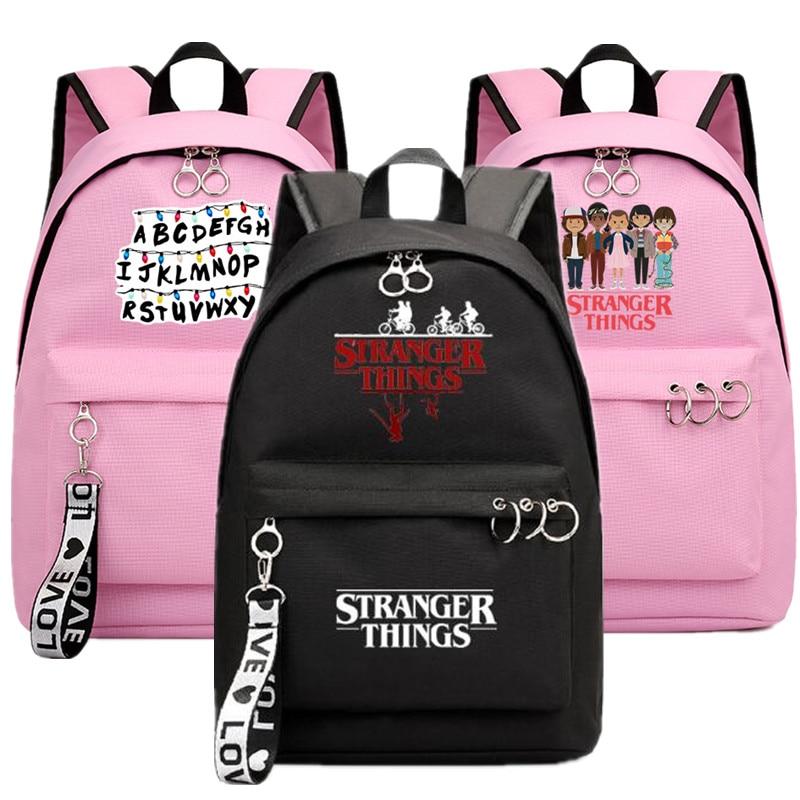 Stranger Things Lightweight Backpack Stranger Things Laptop Bag Back to School